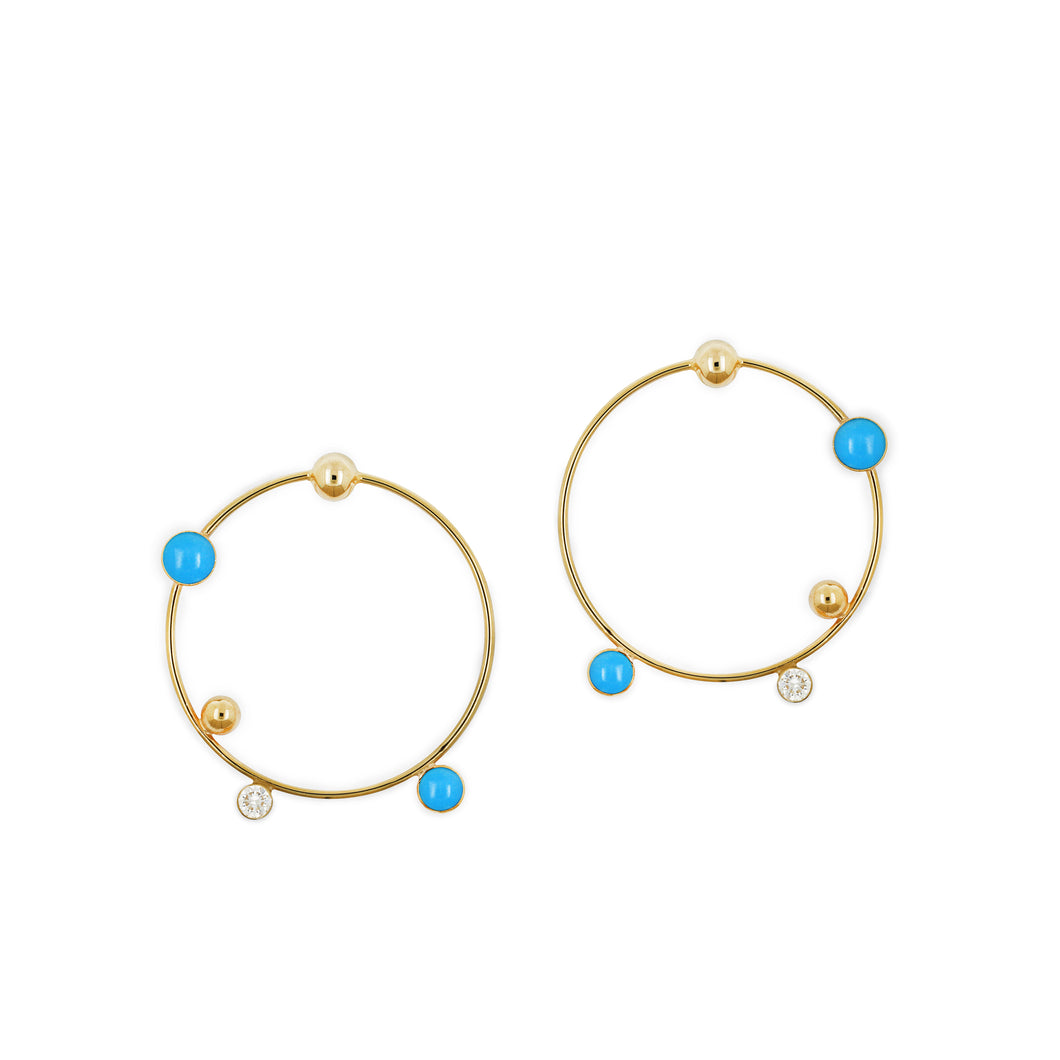 falak statement planet earrings
