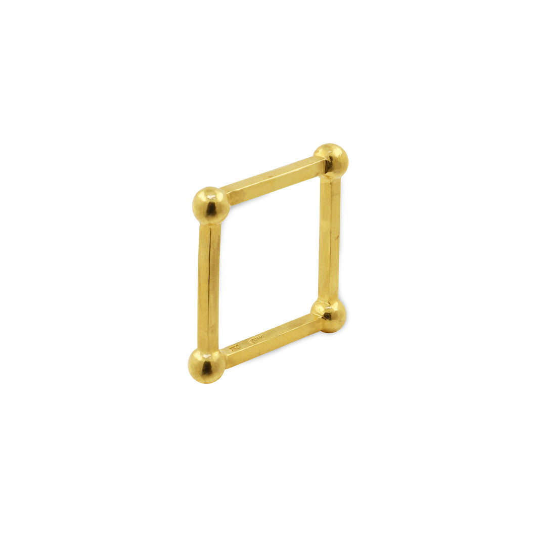 1441 H. Square Ring |