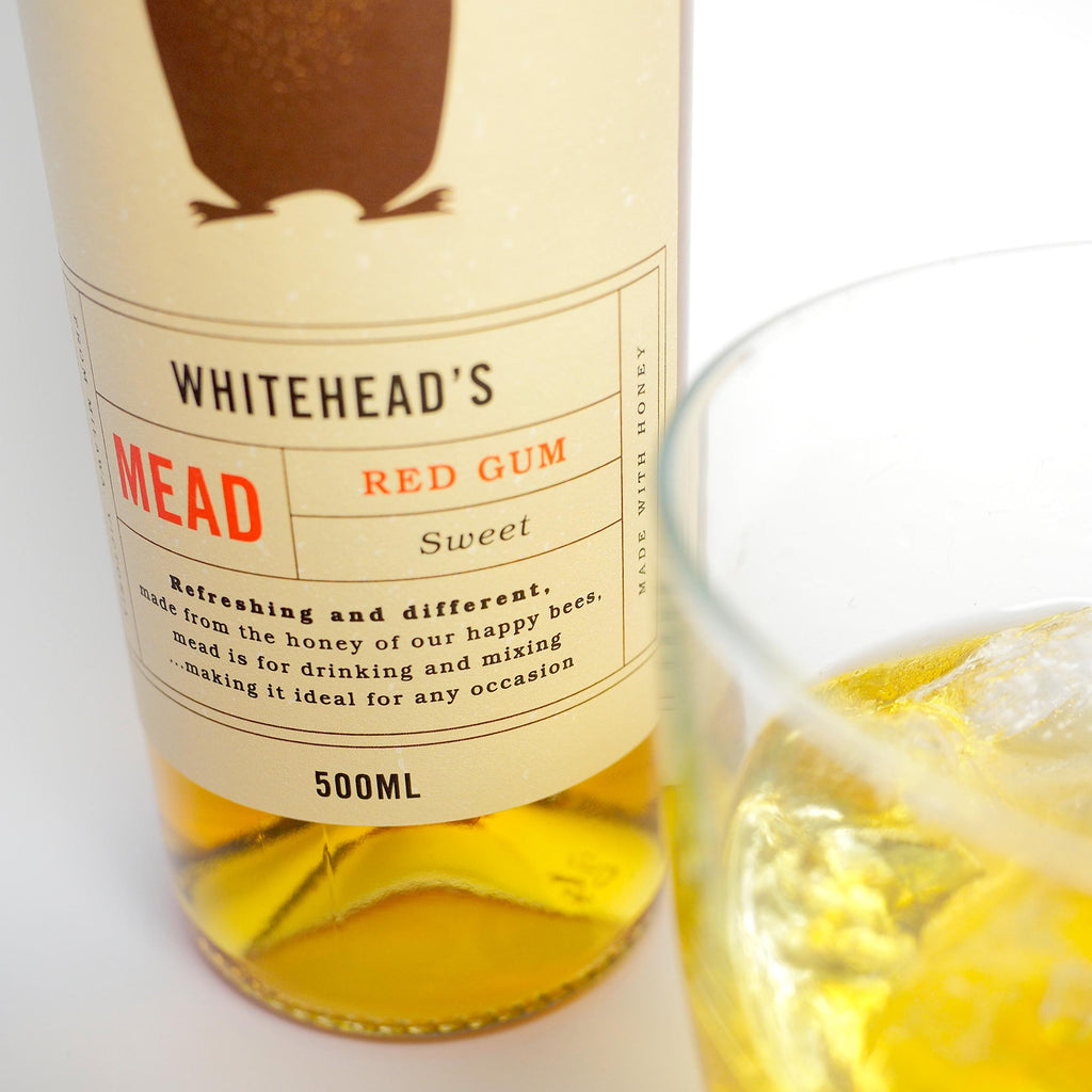 Redgum - Whitehead's Mead-Honey Mead- Walkabout Apiaries