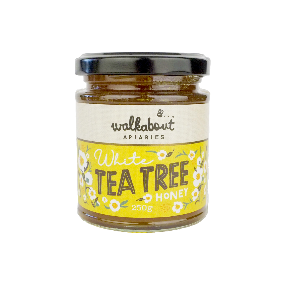 White Tea Tree - Walkabout Apiaries-Honey- Walkabout Apiaries