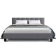 ANNA Queen Bed Frame- Grey