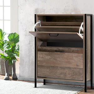 Industrial Shoe Storage Cabinet