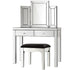 Artiss Mirrored Furniture Dressing Table Dresser Chest of Drawers Mirror Stool