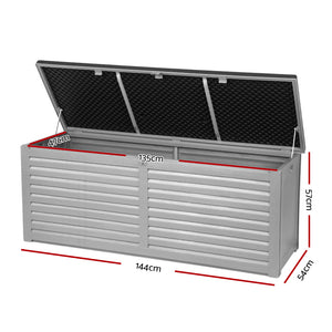 Gardeon Outdoor Storage Box Bench Seat 390L