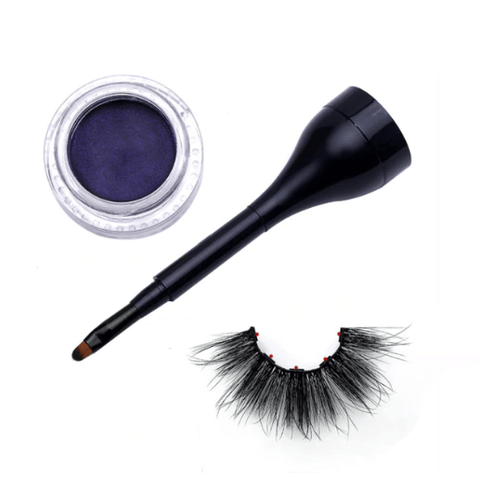 Magnetic Liner and Lashes Kit - Amethyst