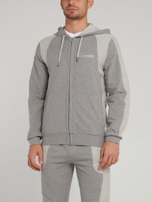 Grey Military Sweatshirt