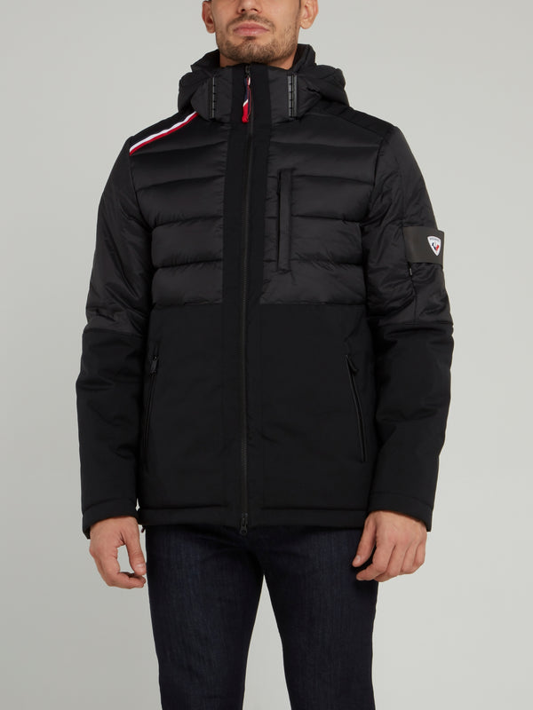 Borrome Black Quilted Jacket