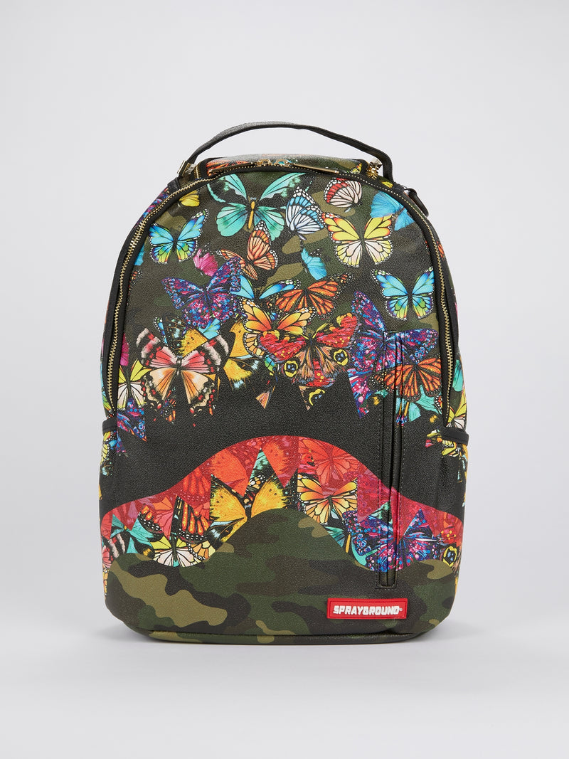 Butterfly Shark Mouth Backpack