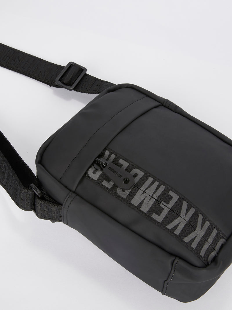 Gum 002 Black Crossbody Bag