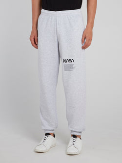 Grey NASA Track Pants
