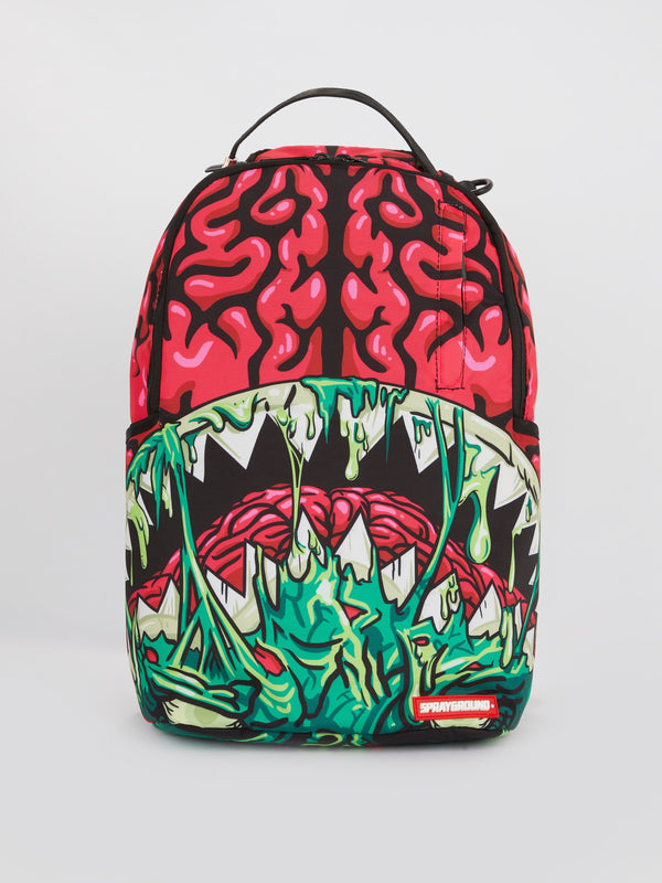 Monster Brain Shark Mouth Backpack