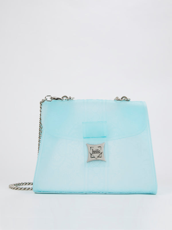 Adamantia Crystal Blue Shoulder Bag