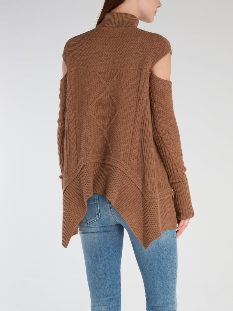 WOMAN KNITTED PULL