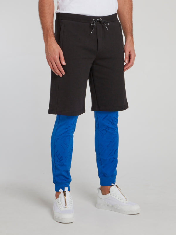 Two Tone Shorts Overlay Trousers