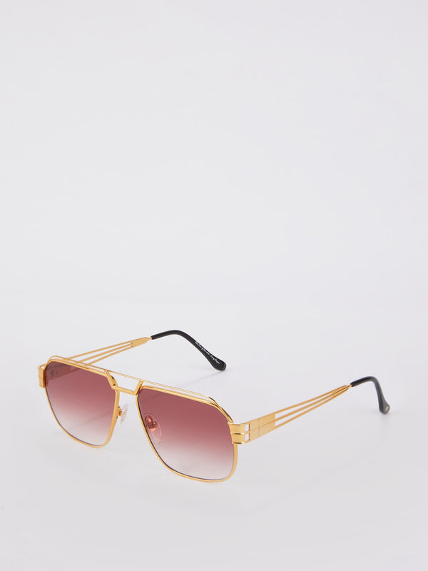 VF 339 Burgundy Gradient Sunglasses