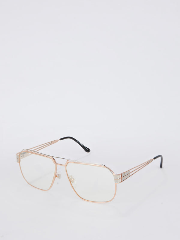 VF 339 Two Tone Clear Sunglasses
