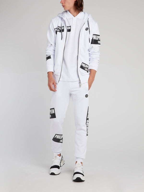 PP1978 White Logo Patch Active Trousers