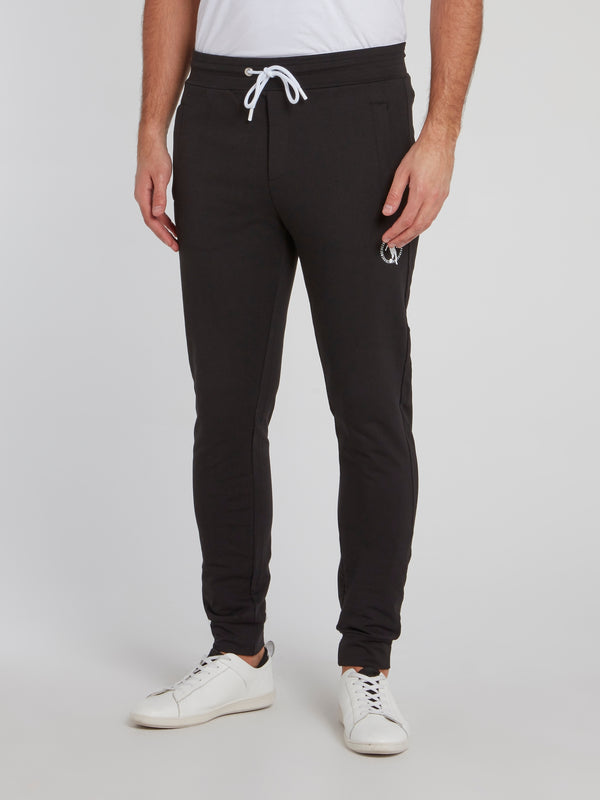 Black Sport Icon Track Pants