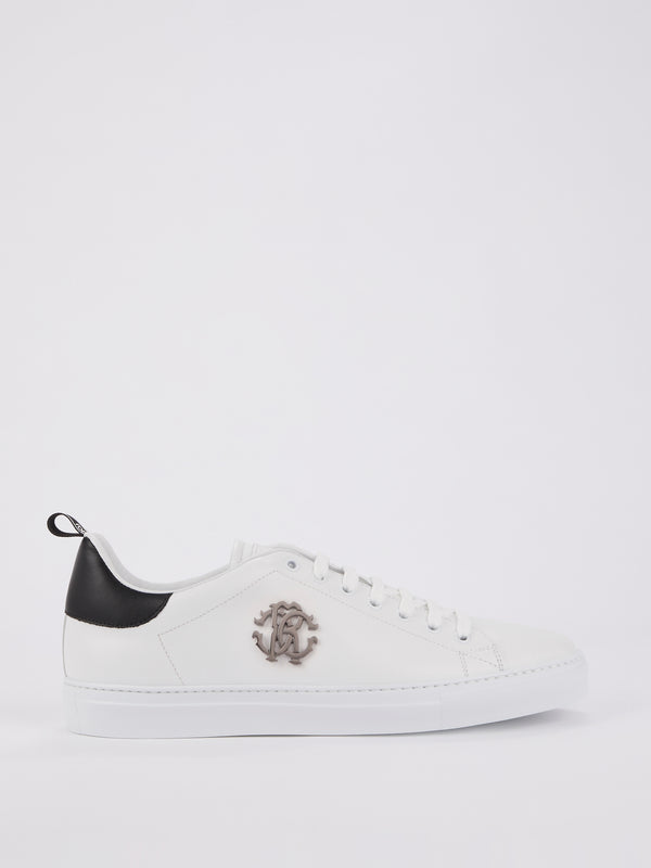 Heel Patched Monogram Sneakers
