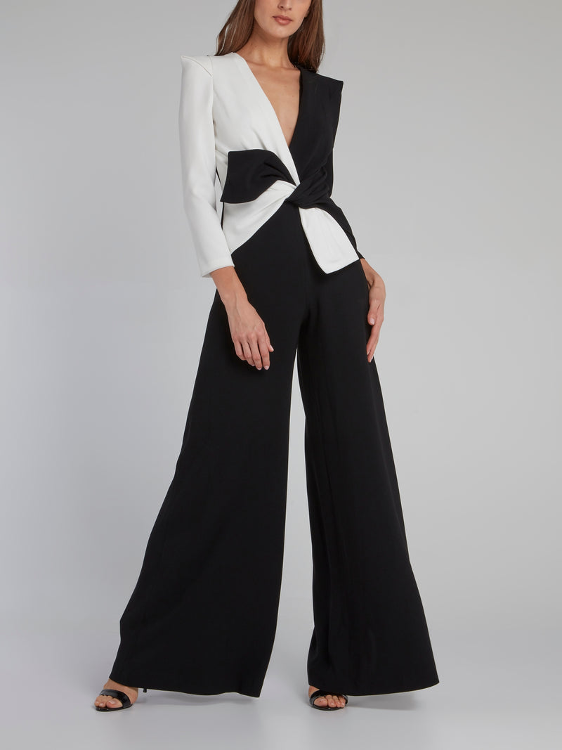 Two Tone Bermuda Maxi Dress