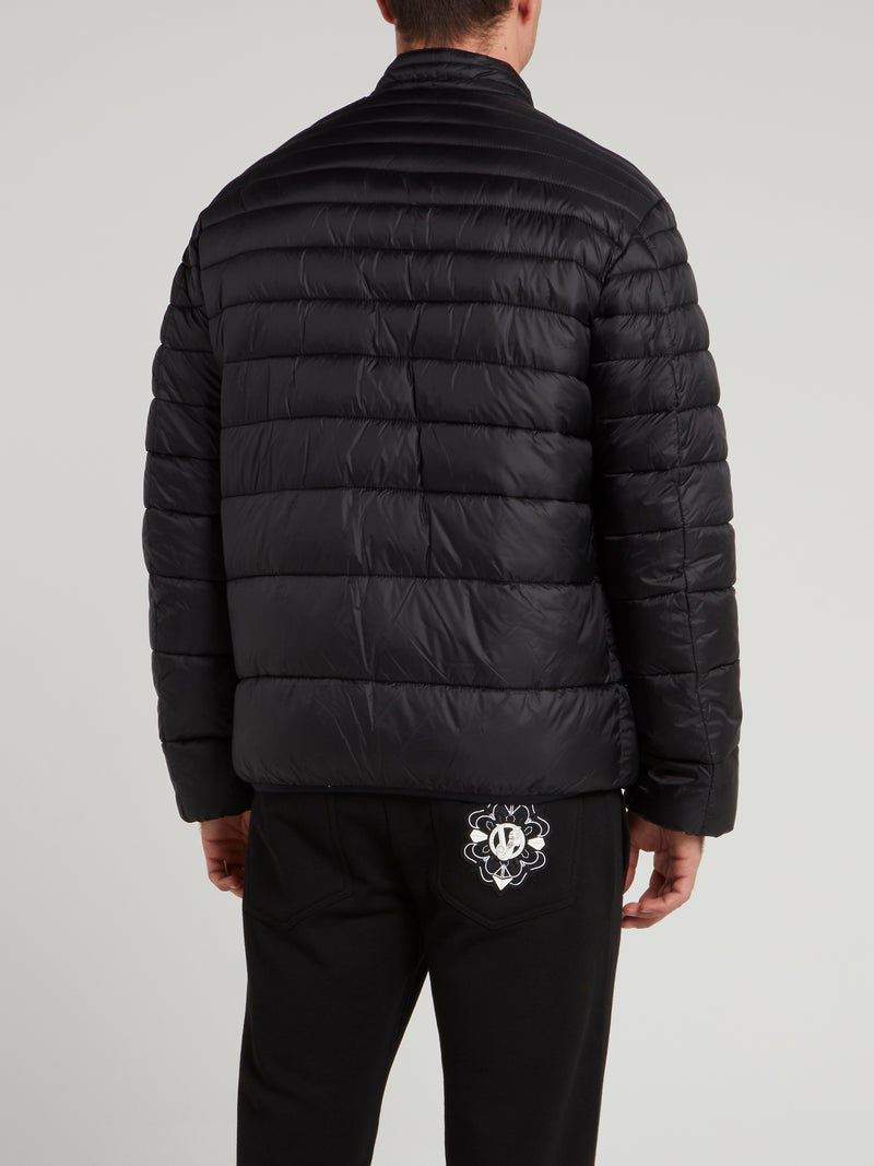 Black Reversible Quilted Jacket