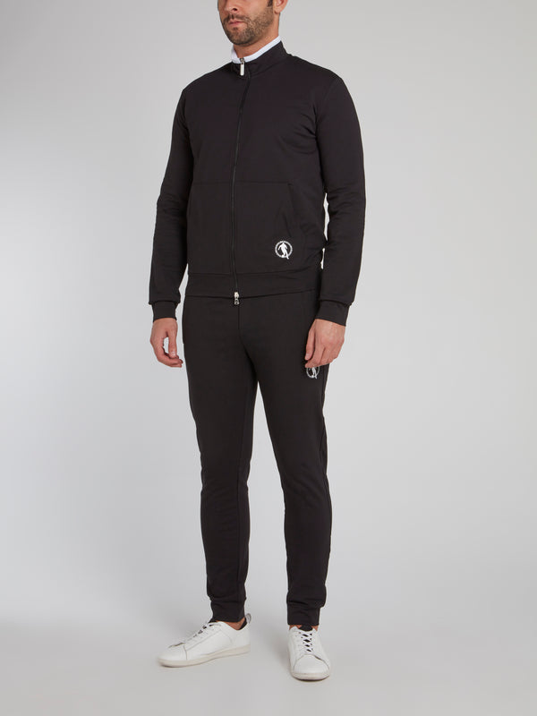 Black Sport Icon Active Suit