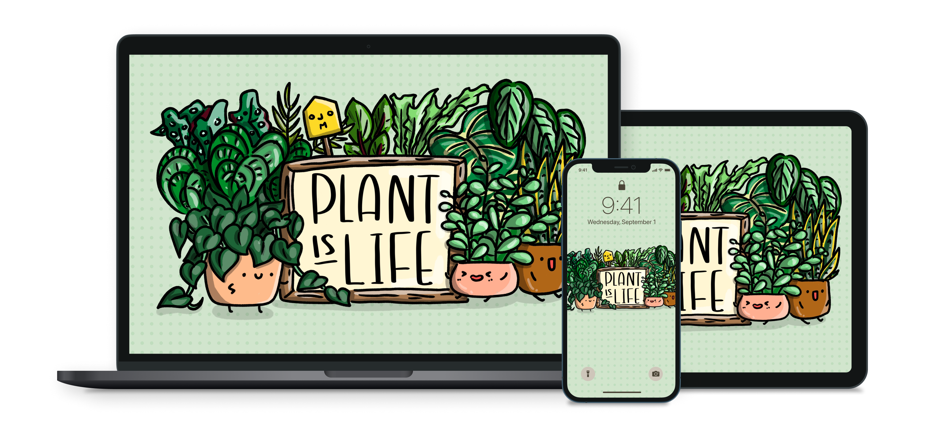 plant wall paper