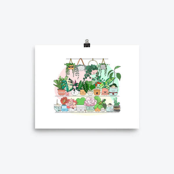 Art Print - Home by Faith - House Plants Delivery Toronto - JOMO Studio