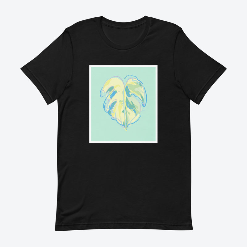 Monstera Canvas T-Shirt