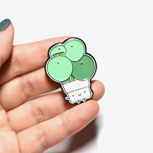 Pilea Soft Enamel Pin - Home by Faith - House Plants Delivery Toronto - JOMO Studio
