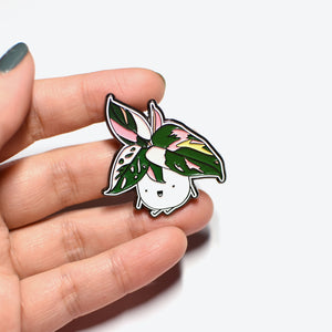 Pink Princess Soft Enamel Pin - Home by Faith - House Plants Delivery Toronto - JOMO Studio