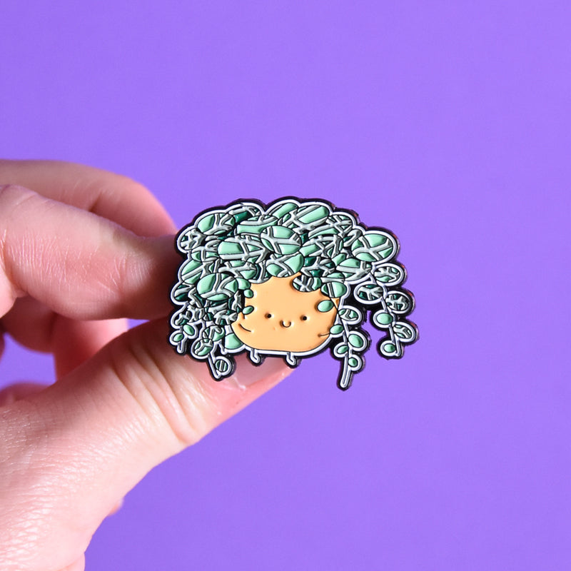 String of Turtles Soft Enamel Pin - Home by Faith - House Plants Delivery Toronto - JOMO Studio