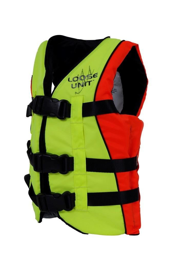 CHILD ADJUSTABLE VEST HI-VIZ