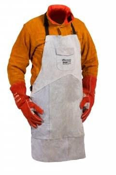FUSION  Welders Apron, Quality Chrome Leather, Kevlar Stitched