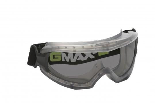 Smoke AF Lens Vented Goggle, High Impact / Splash Protection, AS/NZS