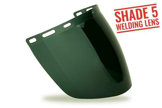 TUFF-SHIELD - Shade 5 Welding Visor designed to fit TS-BG or HHBGE