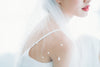 Pearl Bubbles Elbow Length Veil