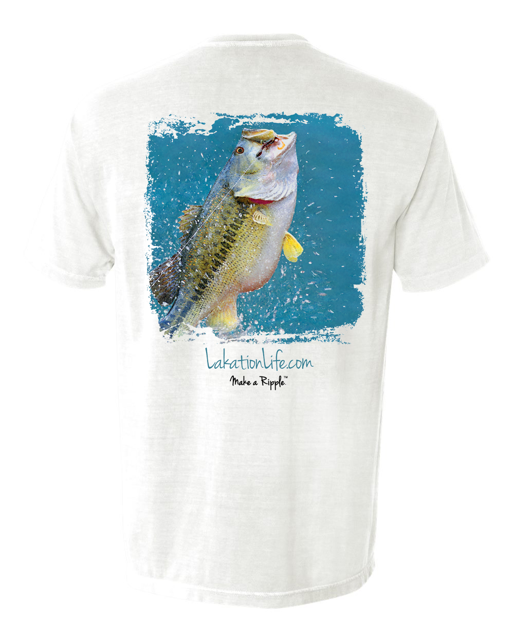 Summer Sale Lakation™ Bass Pocket T-Shirt