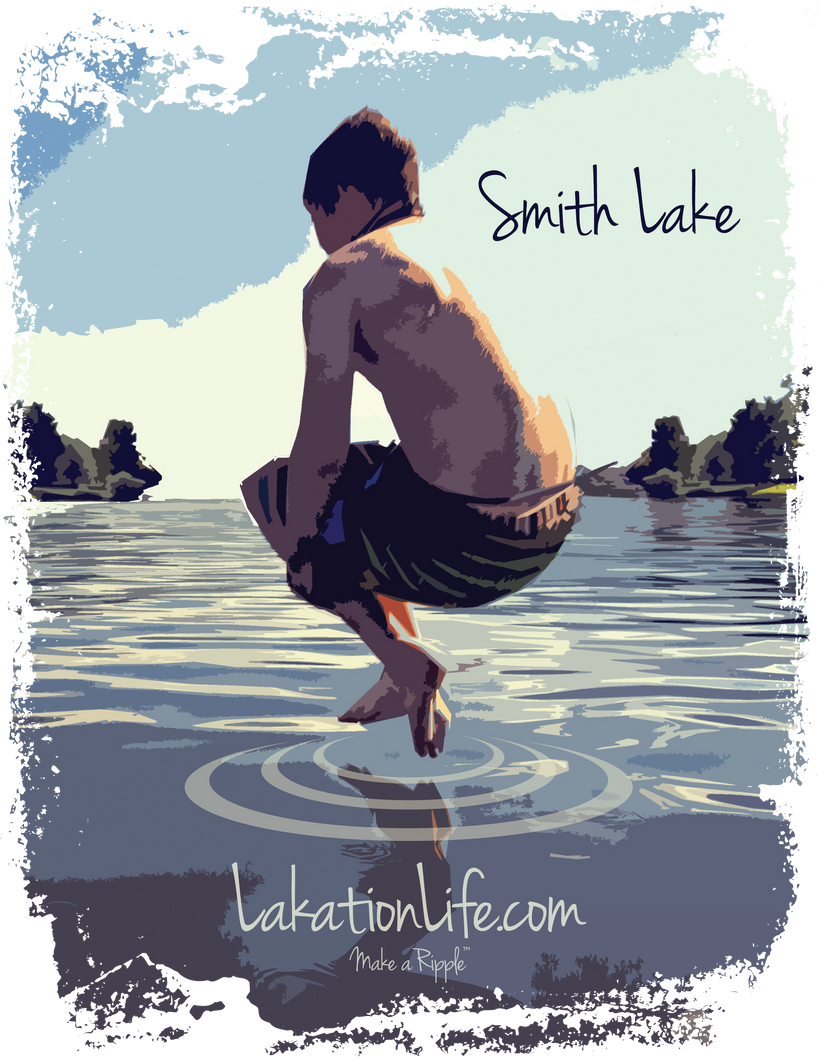 Smith Lake Pocket T-Shirt