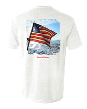 Load image into Gallery viewer, Copy of US Boat Flag Pocket T-Shirt