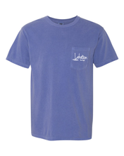 Load image into Gallery viewer, Lakation™ Lake Dog Pocket T-Shirt
