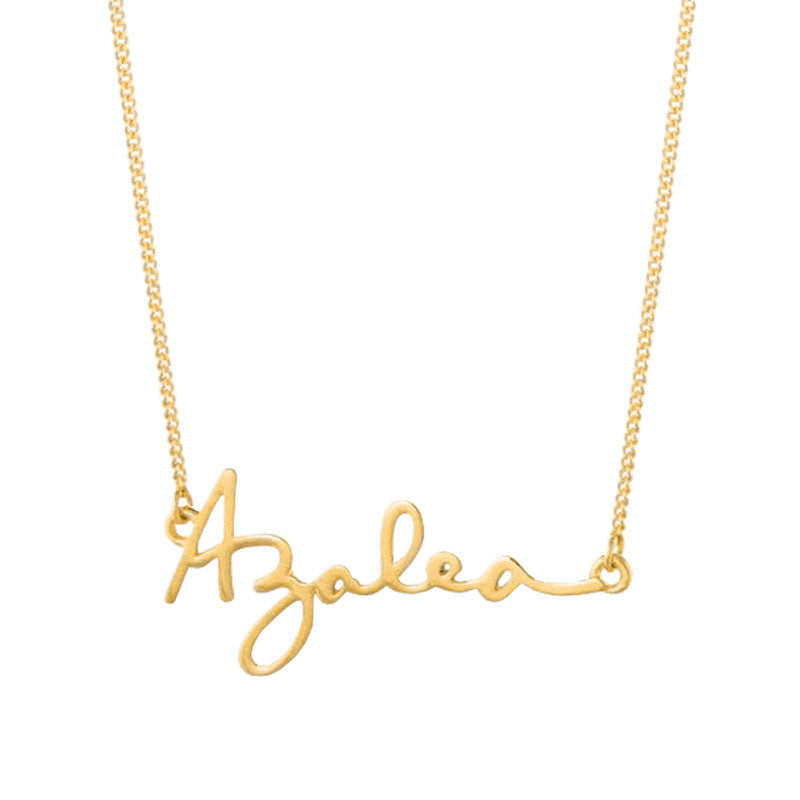 Custom Handwriting Name Signature Necklace