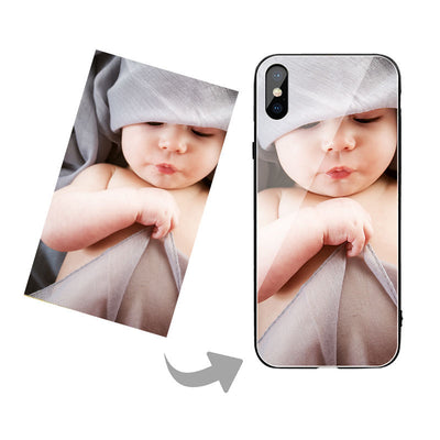 Personalized iPhone XR Photo Phone Case For iPhone X XS Mas Cover