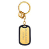316L Stainless Steel Personalized Engraving Military ID Key Chain
