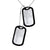 Two Personalized Military ID Dog Tag US Army Style Necklace