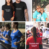 Personalized Cotton Text T-Shirt for Men and Women Unique Clothes