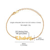 Personalized Handwriting Signature Chain Bracelet