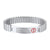 316L Stainless Steel Medical Road ID Bracelet Gifts For Father