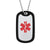 Personalized 316L Stainless Steel Engraving Medical Alert Id Dog Tag