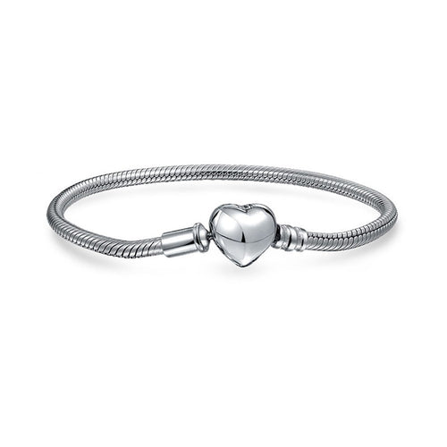 Follow Your Heart Snake Bracelet